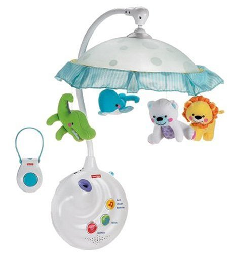Fisher-Price Precious Planet 2-in-1 Projection Mobile (Baby Boys Mobile compare prices)