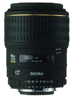 Sigma 105mm F2,8 EX DG Makro Objektiv