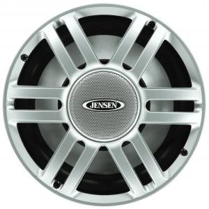 """Jensen Msw10S 10"""" Marine Grade Subwoofer, 300 Watts, Silver"""