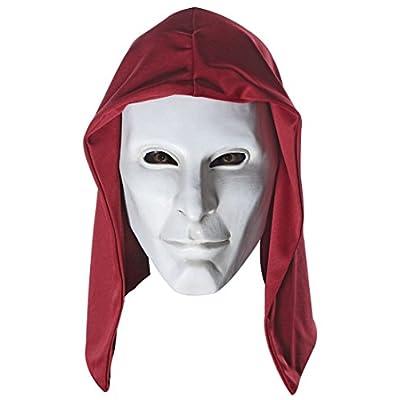 Arkham Origins Deluxe Overhead Latex Anarky Mask Costume