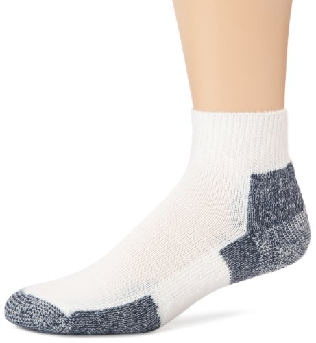 Thorlo Unisex Thick Cushion Running Mini-Crew Sock