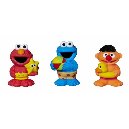 Sesame Street Bath Squirters - 1