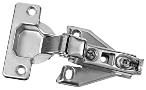 National Hardware BB8192 Concealed Cabinet Hinge in Plain Steel