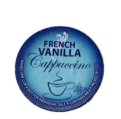 Smart Sips Cappuccino, French Vanilla, Single Serve Cups For Keurig K-Cup Brewers, 24 Count