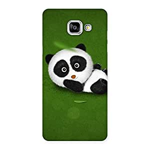 Stylish Panda Green Grass Back Case Cover for Galaxy A5 2016