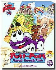 Putt-Putt Travels Through Time - Windows XP / Macintosh (Jewel Case)