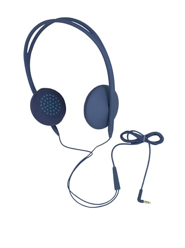 Incase Men'S Pivot On-Ear Lite Headphones, Dove/Fluro Blue