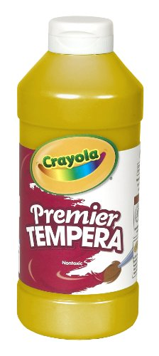 Binney & Smith Crayola(R) Premier Tempera Paint, Gold (Neon Tempera Paint compare prices)