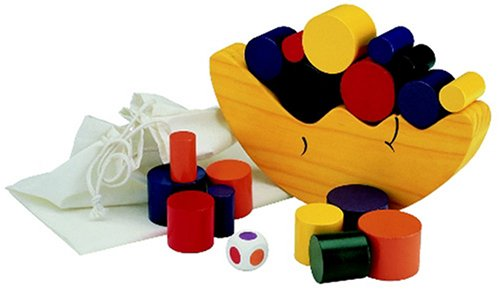 Moon Building block Balance Game - 1