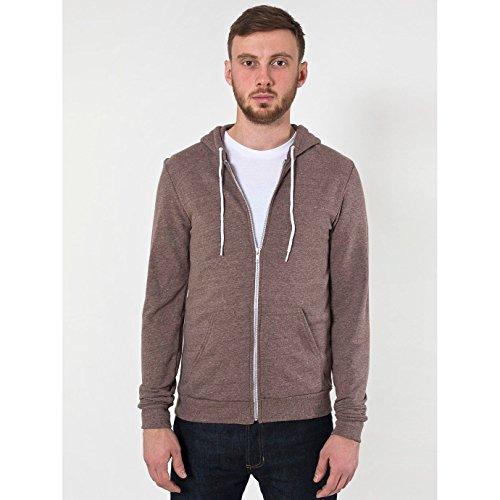 american-apparel-unisex-tri-blend-full-zip-terry-hoodie-m-tri-coffee