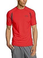 Asics Camiseta Manga Corta Race Ss Top (Rojo)