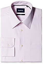 Blackberrys Men's Formal Shirt (8907196534895_MSDOD27PKEN10BPQ_42_Pink)