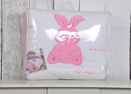 My Little Rabbit Collection-Culla in cotone 100% per letto singolo, 4,5 Tog