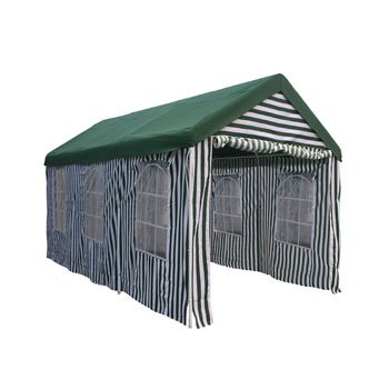 Palm Springs 3m x 6m (10' x 20') Green Extra Heavy Duty Gazebo