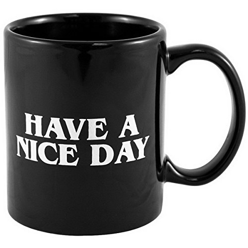 Airblasters Have A Nice Day Middle Finger Mug - Funny Saying Flip Off Coffee Cup (Finger Coffee Cup compare prices)