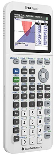 Texas Instruments TI84PLSCEWHITE Calculator