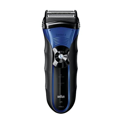 Braun Series 3 340s-4  3040 Wet and Dry Electric Foil Shaver (Product colour may differ)