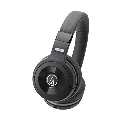 Audio-Technica ATH-WS99BT Solid Bass Bluetooth Wireless Over-Ear Headphones with Built-In Mic & Control