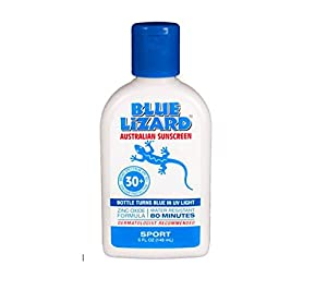 Blue Lizard Australian Sunscreen, Sport SPF 30+, 5-Ounce Bottles (Pack of 2)