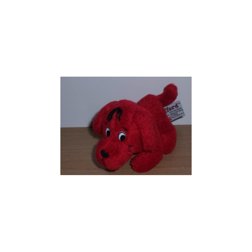 Clifford The Big Red Dog Mini Plush (5) Toys & Games