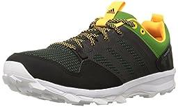 adidas Performance Men\'s Kanadia 7 TR M Trail Running Shoe,Black/Black/White,8.5 M US
