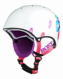 Roxy Misty Girl Helmet - White, 56 cm