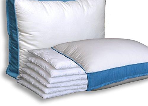 Pancake Pillow Adjustable Layer Pillow Custom Fit Your