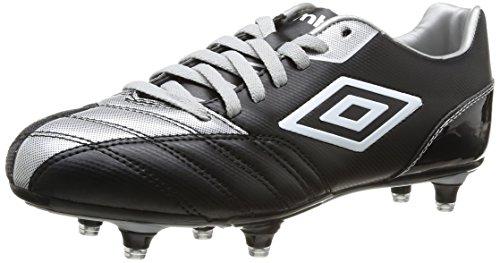 Umbro  Decco,  Scarpe da calcio uomo Nero Noir (218 Black/Silver) 45