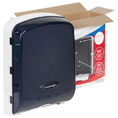 marathon-combo-folded-towel-dispenser-color-smoke-holds-c-fold-s-fold-and-m-fold