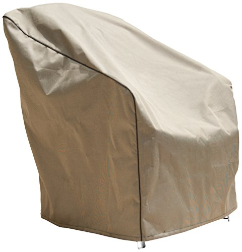 Budge Industries P1W02PM1 Premium 2-Tone Wicker Chair Cover, Large, Tan photo