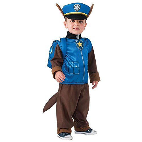 Rubie's Costume Toddler PAW Patrol Chase Child Costume, One Color, 1-2 Years