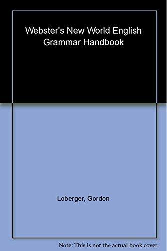 Webster's New World English Grammar Handbook