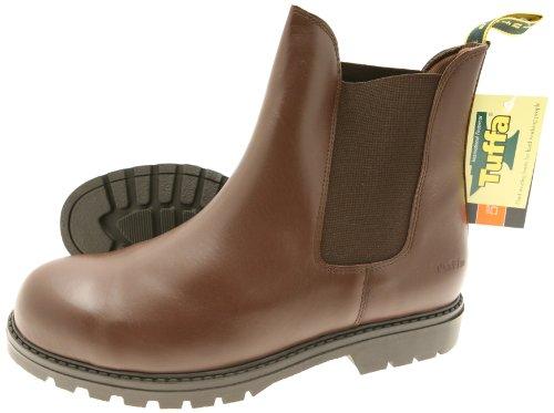 tuffa-trojan-sicherheitsstiefel-braun-size-46