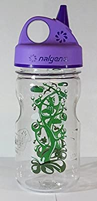 Nalgene 'Everyday Grip-n-Gulp' - 0,35 L, transparent, Deckel violett