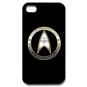 Custom Your Own Personalised Star Trek Movie Logo iPhone 4/4S Best Durable Case Cover