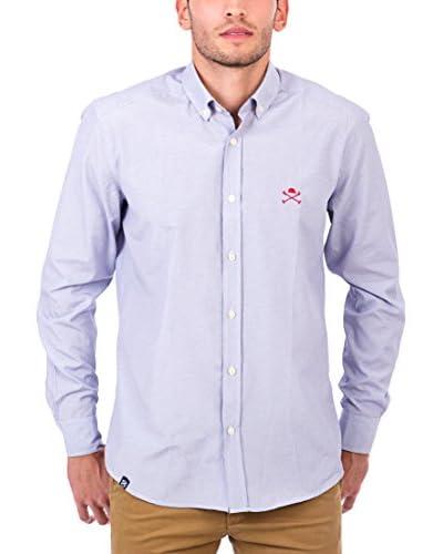 POLO CLUB Camisa Hombre Maverick Academy Azul