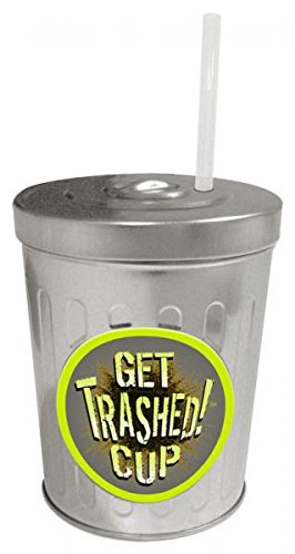 Let's Get Trashed Cup - Party Fun Wedding Gag