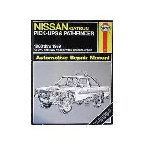 Haynes Nissan - Datsun Pickup Owners' Workshop Manual: 1980-1989 (Haynes Nissan - Datsun Pickup Owne Rik Paul, Ken Freund and John H. Haynes