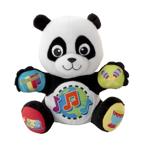 Baby Einstein Press and Play Pal Toy, Panda