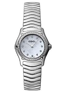 Ebel Damen-Armbanduhr CLASSIC WAVE Analog Quarz 9157F16-9925