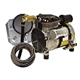 EasyPro Pond Products PA34W 1/4 hp Rocking Piston Aeration System Kit with Quick Sink Tubing (Tamaño: 1/4 hp)