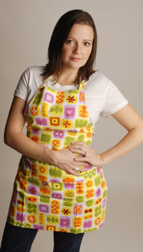 Twinklebelle Aprons in Yummy Candy Print, Cotton Canvas Craft Aprons, for Cooking, Gardening, Crafting