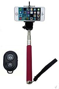 ufcit extendable selfie handheld stick monopod with adjustable phone holder and. Black Bedroom Furniture Sets. Home Design Ideas