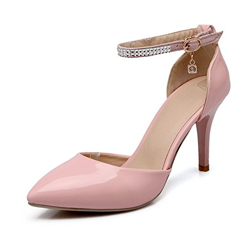 voguezone009-womens-soft-material-pointed-closed-toe-spikes-stilettos-solid-pumps-shoes-pink-43