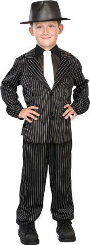 Great Group Halloween Costumes: The Addams Family - Lil Gangster (Gomez Addams) Child Costume