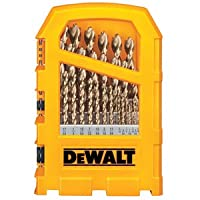 Dewalt 29 Piece Gfo Pilot Tip Drill Bit Set Reduced Shank
