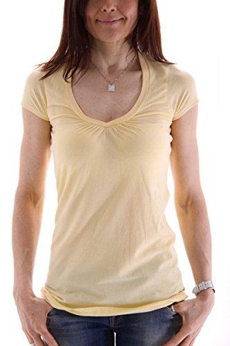 banana-republic-damen-t-shirt-grosse-xl-farbe-gelb