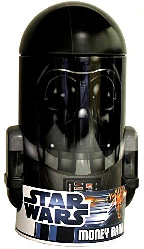 Star Wars Darth Vader Shaped Tin Bank