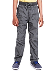 Pure Cotton Pull On Cargo Trousers