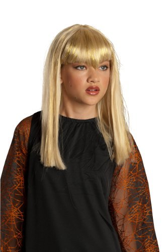 Rubie's Costume Co - Glitter Vamp Blonde Child Wig